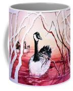 Canadian Geese Sunset Coffee Mug
