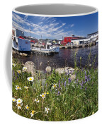 Canadian Harbor On A Sunny Day Coffee Mug