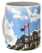 Canadian Rockies - Digital Painting Coffee Mug