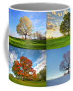 Canadian Seasons Coffee Mug