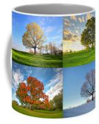 Canadian Seasons Coffee Mug by Mircea Costina Photography