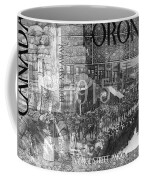 Canadian Wwi Nostalgic Collage Coffee Mug