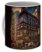 Canal And Center Streets New York City Coffee Mug