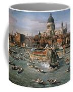 Canaletto: Thames, 18th C Coffee Mug