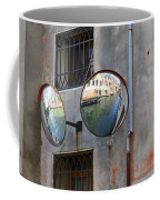 Canals Reflected In Mirrors In Venice Italy Coffee Mug