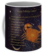 544130c0931 Weekender Tote Bags. $40. Cancer Birthday Zodiac Astrology Coffee Mug