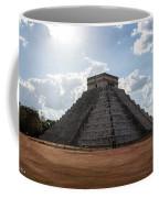 Cancun Mexico - Chichen Itza - Temple Of Kukulcan-el Castillo Pyramid 1 Coffee Mug