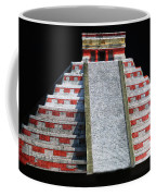 Cancun Mexico - Chichen Itza - Temple Of Kukulcan-el Castillo Pyramid Night Lights 1 Coffee Mug
