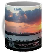 Cancun Mexico - Sunrise Over Cancun Coffee Mug