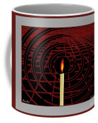 Candle Of Faith And Hope Coffee Mug