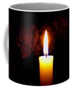 Candlelight And Roses Coffee Mug