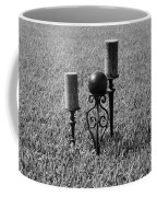 Candles In Grass Coffee Mug