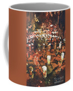 Candles In Graveyard During Day Of The Dead In Patzcuaro, Mexico Coffee Mug