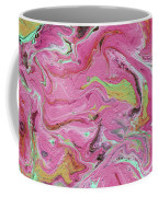 Candy Coated- Abstract Art By Linda Woods Coffee Mug