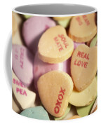 Candy Hearts Coffee Mug