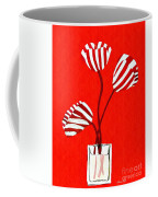 Candy Stripe Tulips Coffee Mug