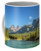 Canmore Alberta Golden Hour Coffee Mug