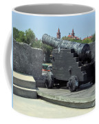 Cannon At The Castillo Coffee Mug