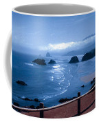 Blue Waters On Cannon Beach Coffee Mug