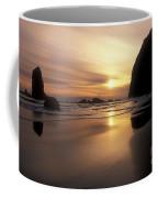 Cannon Beach Sunset-oregon Coffee Mug