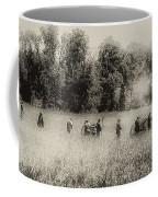 Cannon Fire At Gettysburg  Coffee Mug