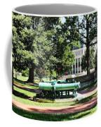 Cannon Near Tecumseh Statue Coffee Mug