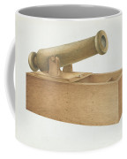 Cannon-shaped Ballot Box Coffee Mug
