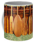 Canoe Paddles Coffee Mug