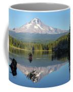 Canoeing At Trillium Lake Coffee Mug