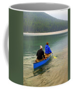 Canoeing Glacier Park Coffee Mug