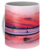 Canoeing On Color Coffee Mug