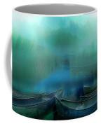 Canoes At Nightfall Coffee Mug