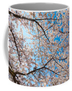 Canopy Of Cherry Blossoms Coffee Mug