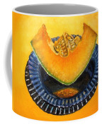 Cantaloupe Oil Painting Coffee Mug