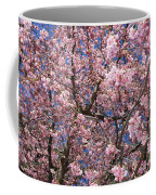 Canvas Of Pink Blossoms Coffee Mug