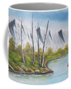 Winter Season - Mountains Coffee Mug