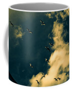 Canvas Seagulls Coffee Mug