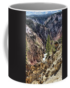 Canyon And Lower Falls Coffee Mug