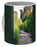 Canyon Path IIi Painterly Coffee Mug
