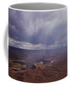 Canyonlands Rain On The Green River Coffee Mug