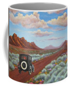 Rough Ride Through The Canyonlands Coffee Mug