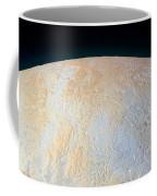 Canyons Around Plutos North Pole Coffee Mug