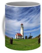 Cape Blanco Lighthouse Above The Rope Coffee Mug