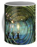 Cape Blanco Lighthouse Lens Coffee Mug