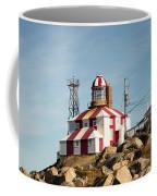 Cape Bonavista Lighthouse, Newfoundland, Canada Old And New Lamp Coffee Mug