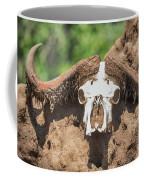 Cape Buffalo Skull Coffee Mug