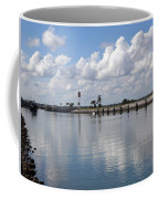Cape Canaveral Locks In Florida Coffee Mug