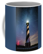 Cape Hatteras Light Under The Stars Coffee Mug