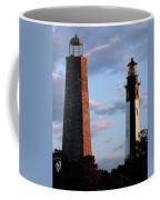 Cape Henry Lighthouses In Virginia Coffee Mug
