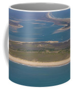 Cape Lookout Lighthouse Distance Coffee Mug